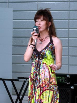 歌もMCも素敵な、大山桃子さん